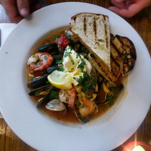 bombolini seafood stew