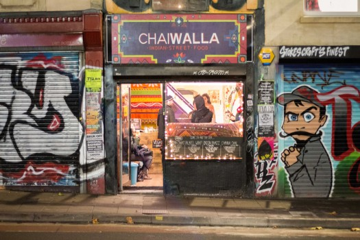 chaiwalla outside